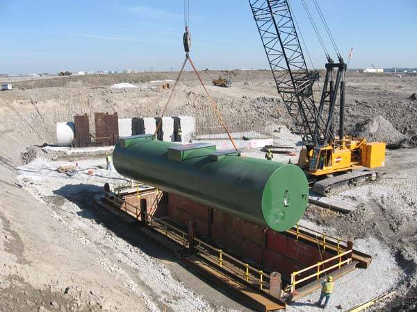 Oil/Water Separators For Electrical Power Facilities