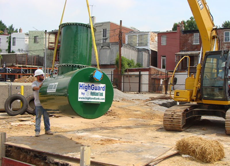 New Product: HighDRO® Decontamination Wastewater Storage