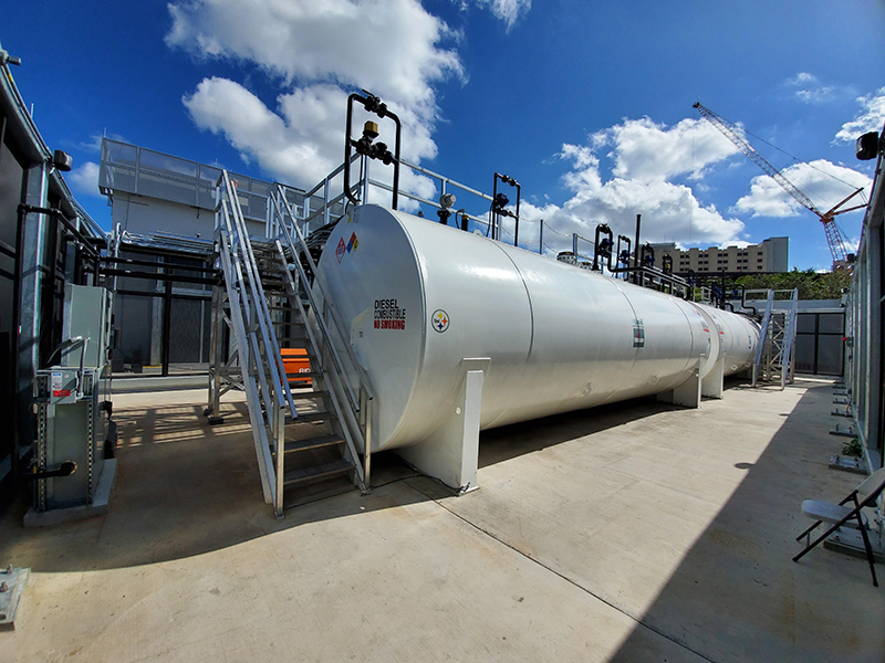 Fuel Storage Tanks For Mission Critical Facilities