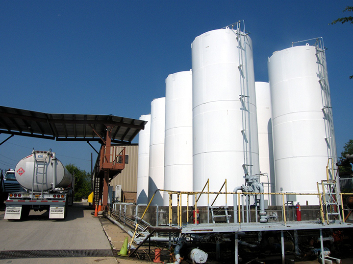 Bulk Storage Tanks For Petroleum & Chemicals